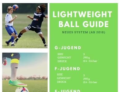 Lightweight-Fußball-Guide-Ausschnitt
