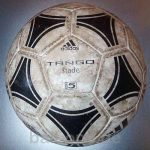 Where the old soccer balls better?