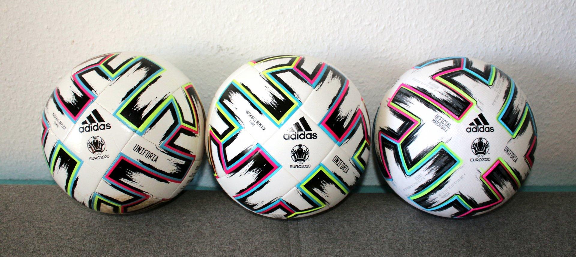 Vergleich Adidas Uniforia Bälle